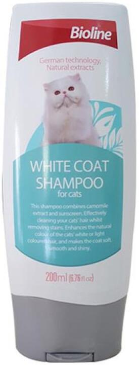Bioline Beyaz Tüylü Kedi Şampuanı