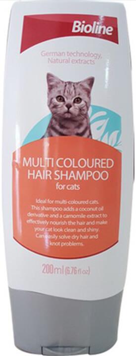 Bioline Çok Renkli Kedi Şampuanı