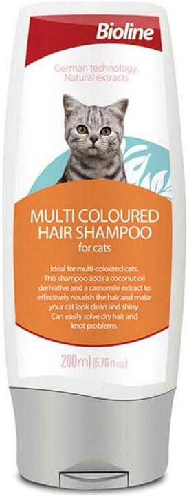 Bioline Çok Renkli Tüylü Kediler Için Şampuan