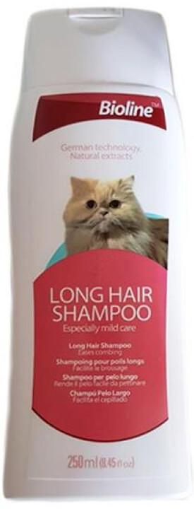 Bioline Uzun Tüylü Kedi Şampuanı