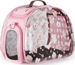 Ibiyaya Cupcake Love Şeffaf Kedi Taşıma Çantası