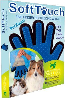 1- Pet Zoom Soft Touch - Tüy Toplama Eldiveni