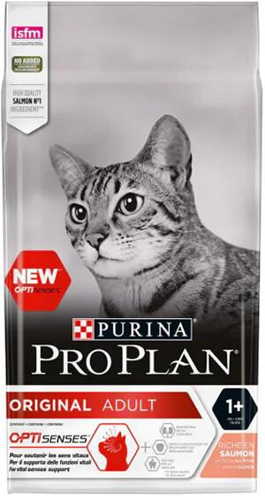 Pro Plan Adult Somonlu ve Pirinçli Yetişkin Kedi Maması 1,5kg