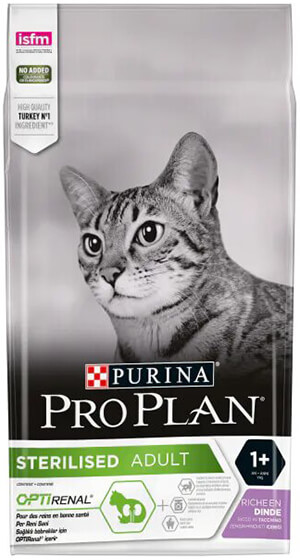 Pro Plan Tavuklu ve Hindili Kısırlaştırılmış Kedi Maması 1,5kg